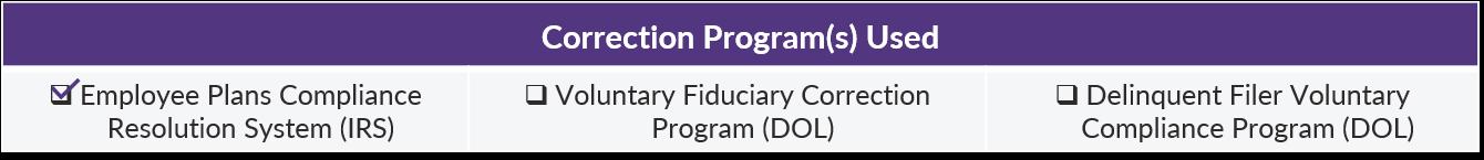 COTQ - June 2018 - Correction Program