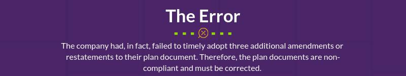 Q4 2018 COTQ_The Error