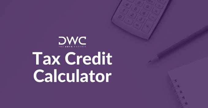 DWC Resource_Tax Credit Calculator_Landing Page Hero Image